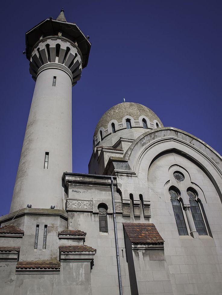 Marea Moschee din Constanța // Moscheea Carol I (1910-1912), Constanța, arh. Victor Ștefănescu, stil egipteano-bizantin cu elemente neoromânești