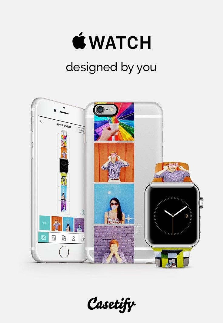 Custom Apple Watch Band by Casetify. Get $10 off with code ZE5VT4