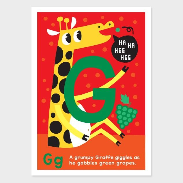 g kids art print by kissy kissy kids see http - Kid Prints