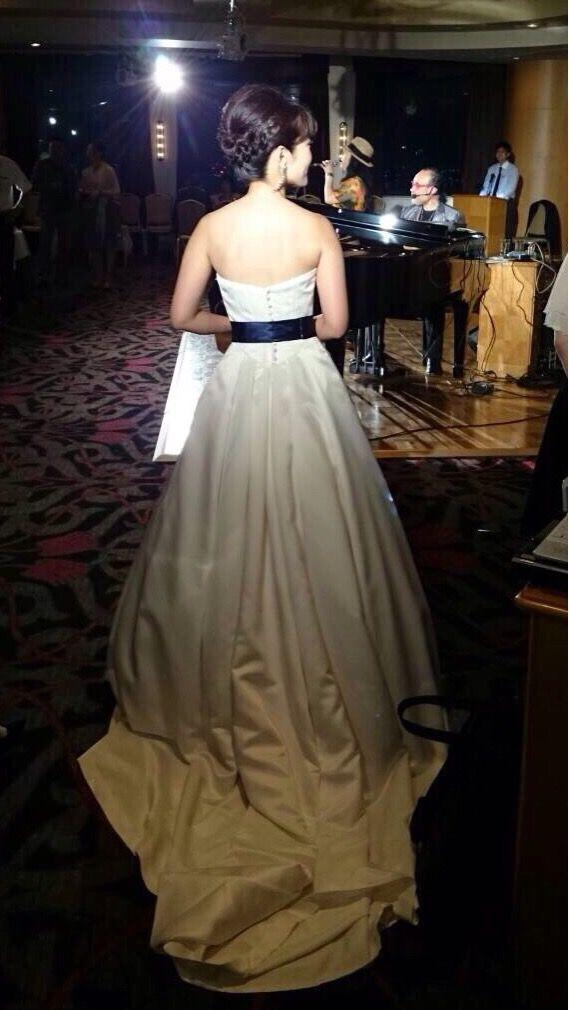 1・5次会♯ウェディングドレス♯ウェディングヘヤー@ANAクラウンプラザホテル名古屋
