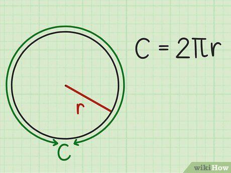 Cómo Calcular El Radio De Un Círculo Circulo Y Circunferencia Calcular Circunferencia Problemas Matemáticos