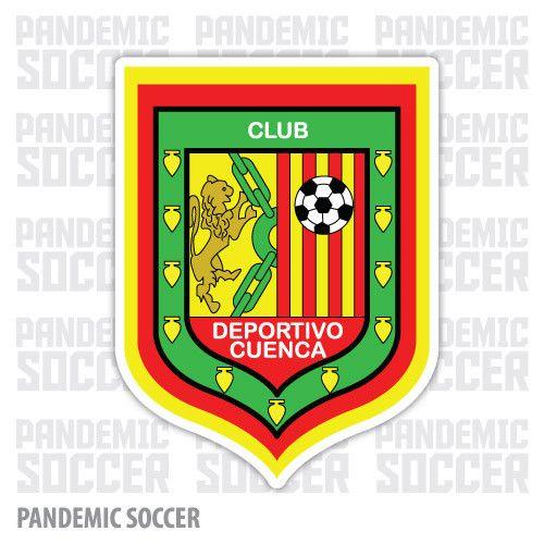 Deportivo Cuenca Ecuador Vinyl Sticker Decal Calcomania