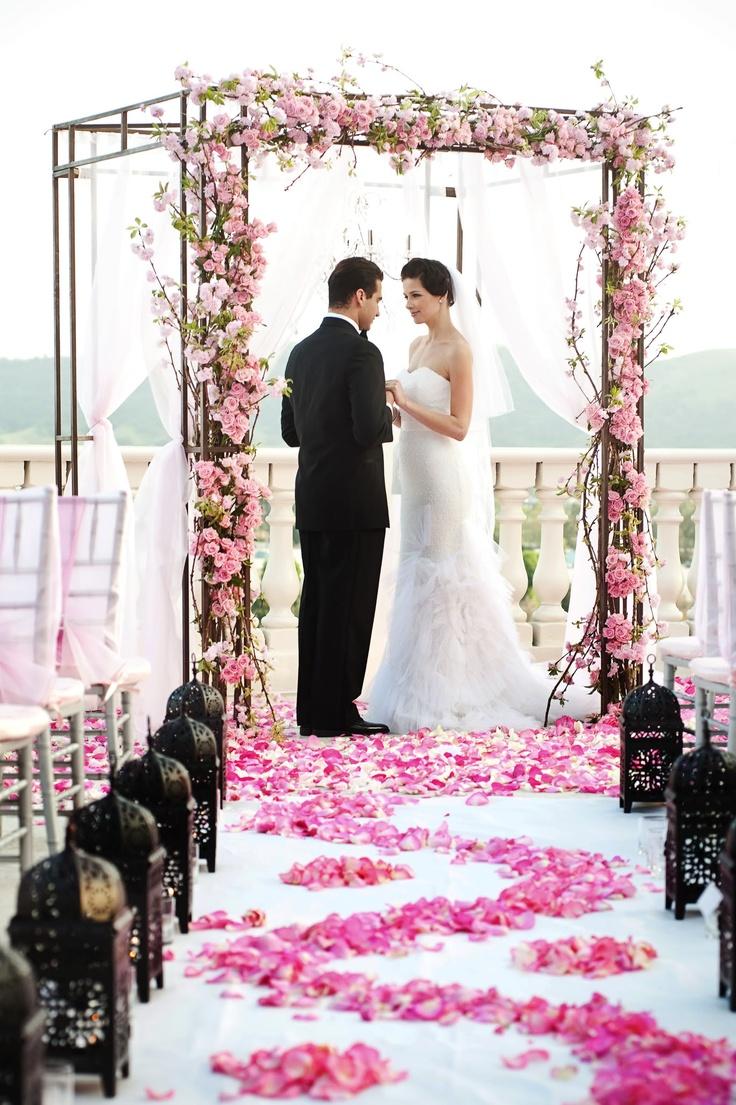 Wedding Ceremony Decoration Idea - California Weddings: http://www.pinterest.com/fresnoweddings/