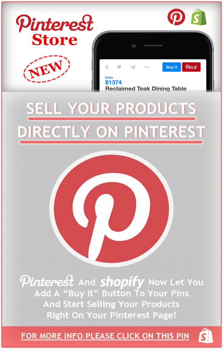 Sell Your Products On Pinterest, Do Online Business On Pinterest! Please Share With The Whole Pinterest Community!