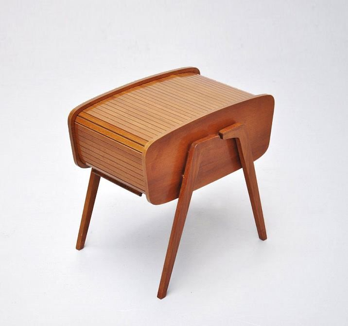 82 best vintage sewing box travailleuse images on pinterest sewing box furniture and - Boite a couture moderne ...