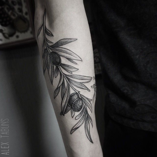 olives/olive tattoo. our tree