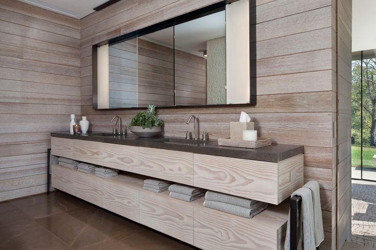 Stunning Wood Feature - Meyer Davis — Tennessee Farmhouse