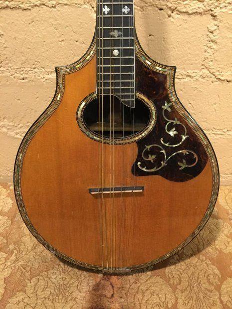 Lyon and Healy Mandolin 1920s-1930s Natural | Reverb