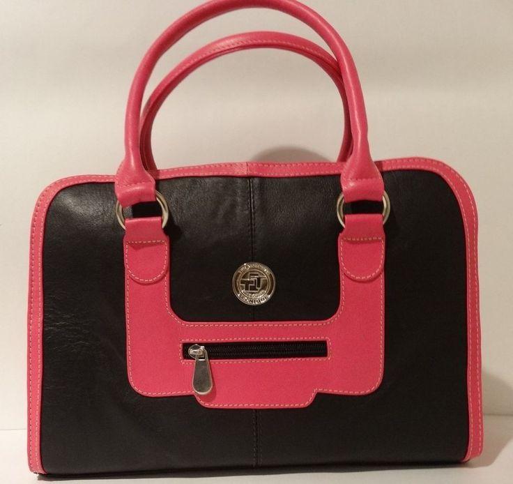 NWT THE COLOMBIAN TECHNIQUE Handmade Luxury Designer 100% Leather Handbag Bag #TheColombianTechnique #Satchel