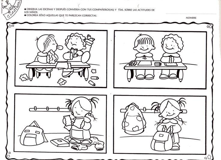 niños peleando en el salon de clases para colorear - Buscar con ...