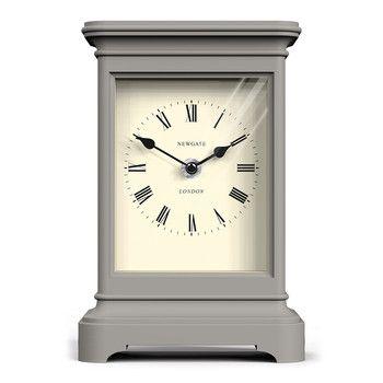 Library Clock - Overcoat Gray