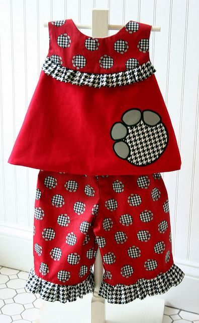 Alabama pant set by iveyc95, via Flickr