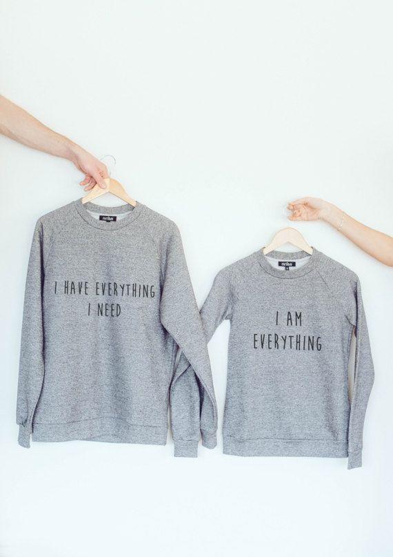 Couple Sweaters Sweatshirt Pullover Pullover Hoodie Long Sleeve