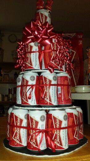 Budweiser Beer cake boyfriends 21st birthday