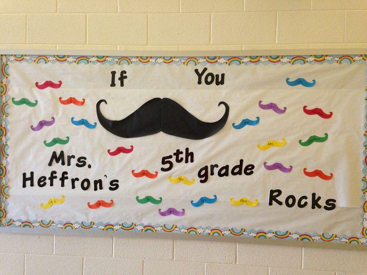 Mustache Classroom Decor ~ Best mustache bulletin board ideas on pinterest
