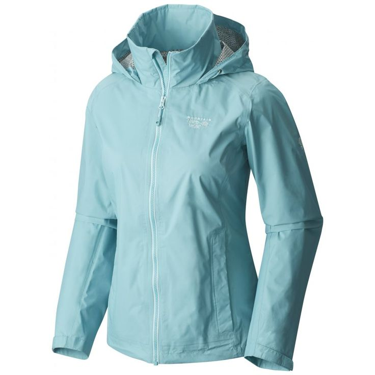 Mountain Hardwear Plasmic Ion Jacket - Women's - Everyday Rain Jackets - Rain Jackets - Women's Jackets - Women's :: CampSaver.com