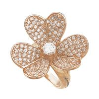 Daniel Espinoza Jelwery... Rose gold flower ring