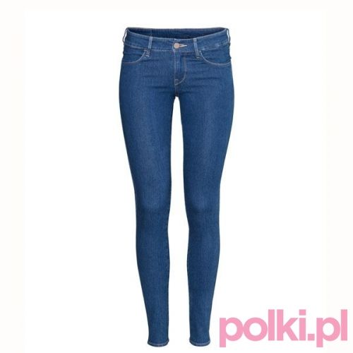 Dżinsy rurki, H&M #polkipl #pink #style #fashion