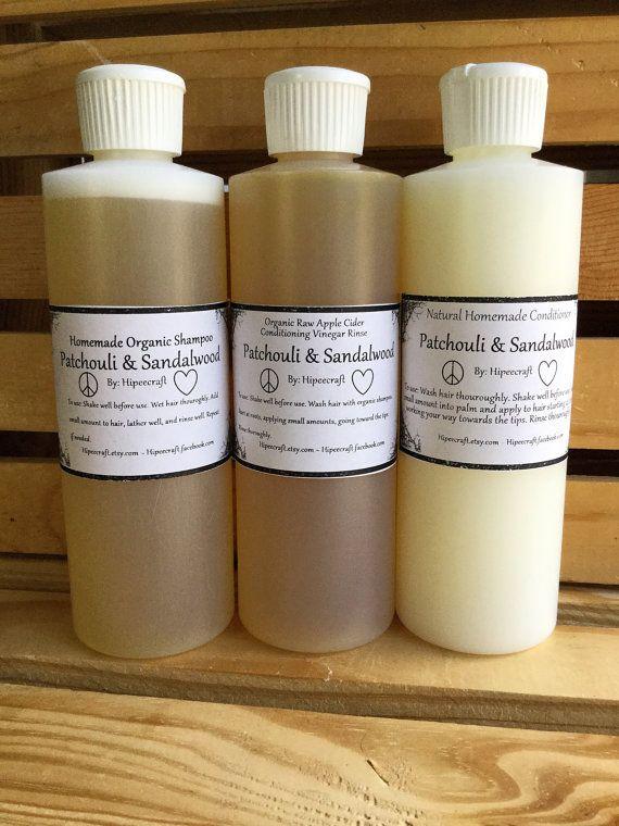 Organic Shampoo and Conditioner Homemade Shampoo and
