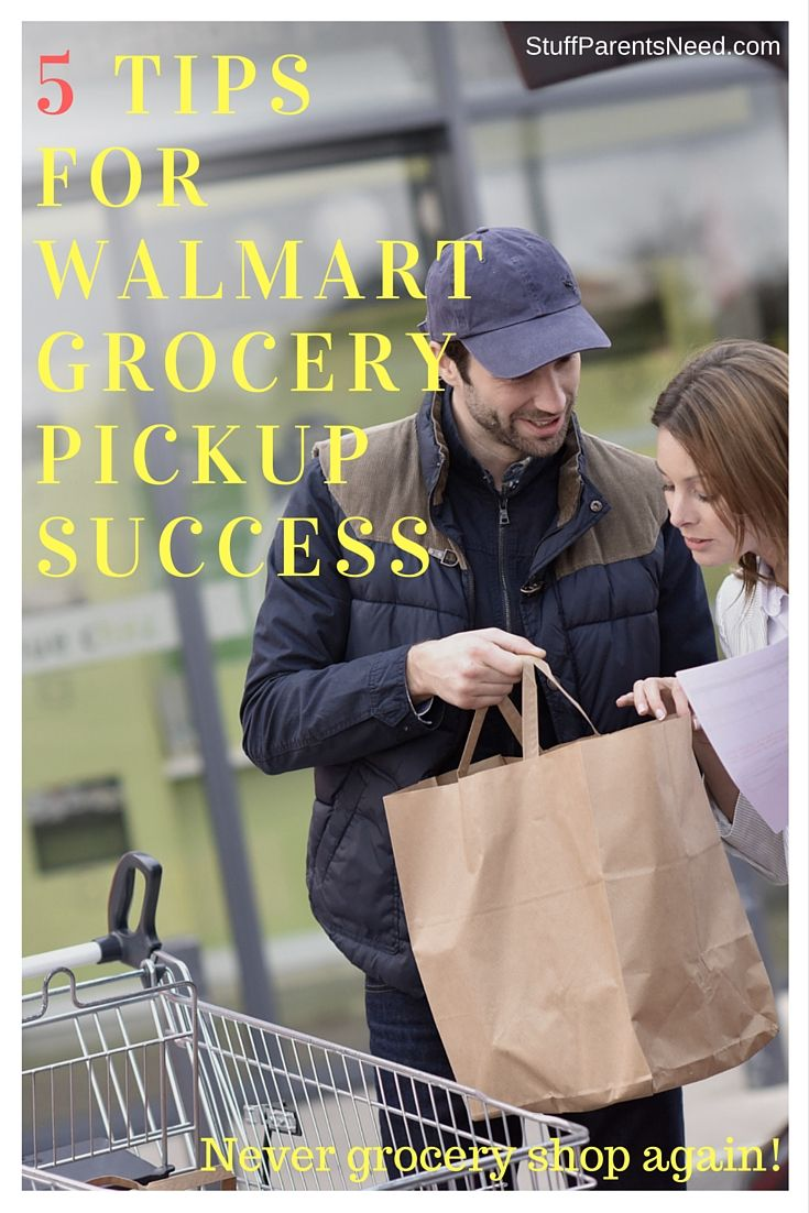Have a Walmart in your town? You may never have to shop for groceries again! 5 tips to make the most out of the curbside pickup service option for Walmart groceries.