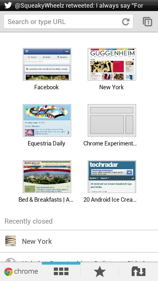 Google Chrome for Android. Sync your bookmarks and your ...