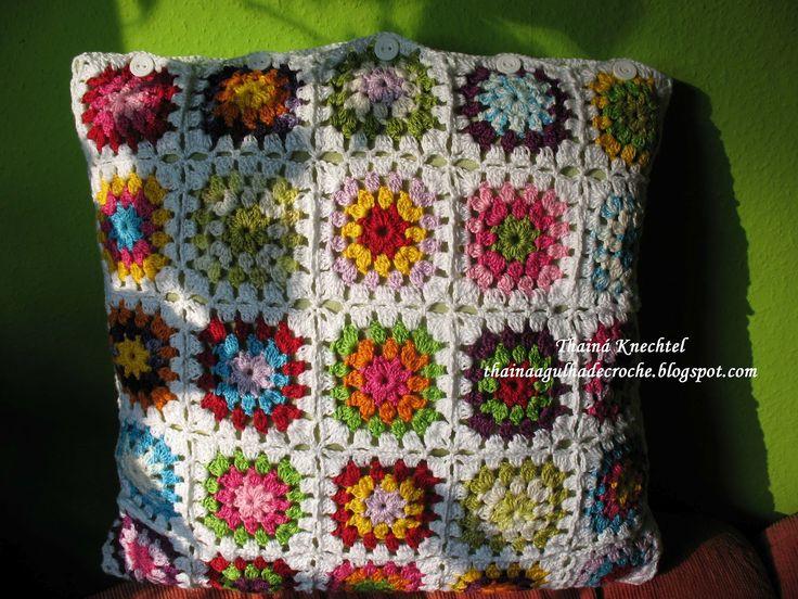 Dorable Patrón Potholder Crochet Diagonal De Espesor Doble Adorno ...