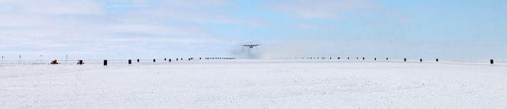 A Beautiful Look At Antarctica's Harrowing Ice Runways | Atlas Obscura