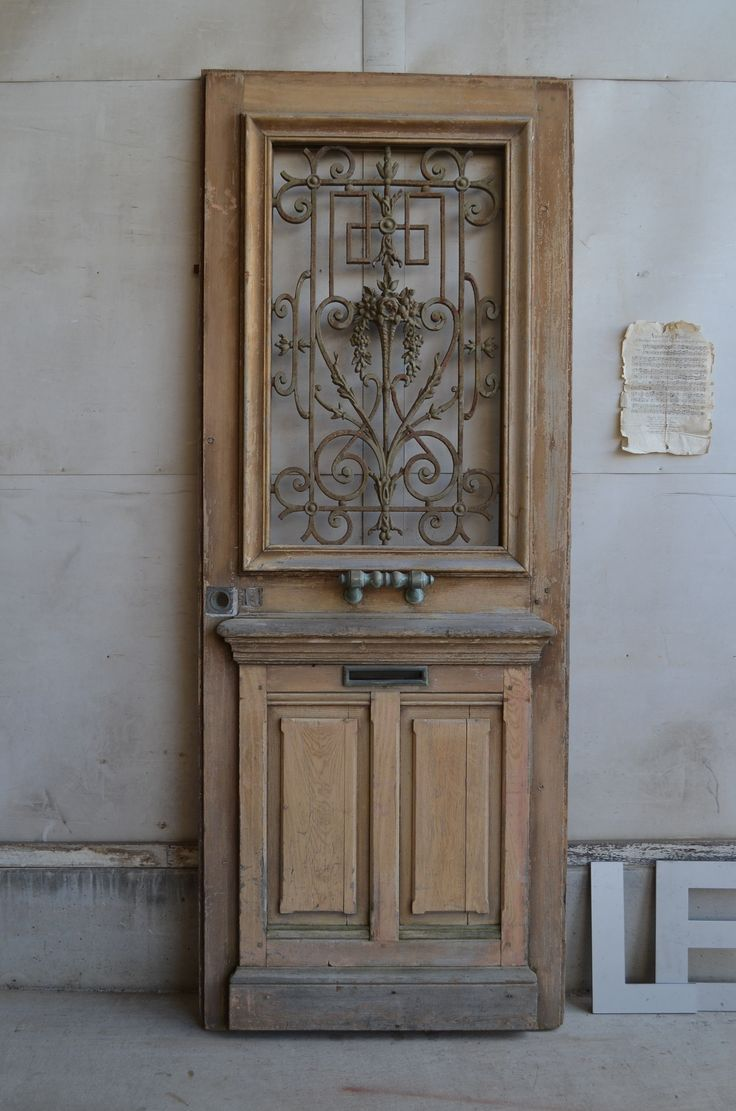 1890's French Grilled Iron Door#アンティーク#パディントン