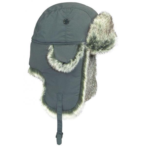 Chapka Herman unie + fausse fourrure Anthracite #mode #hiver #chapka #nouveauté #hermanheadwear disponible sur @hatshowroom