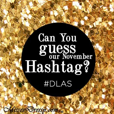 Repin and Be the first to guess our November Hashtag and win this gorgeous #MissesDressy #SherriHill dress #DLAS  www.MissesDressy.com