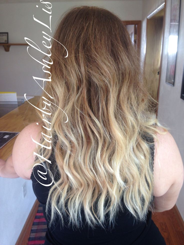 Sombrè using wella free lights and Kenra rapid toner in VP ...