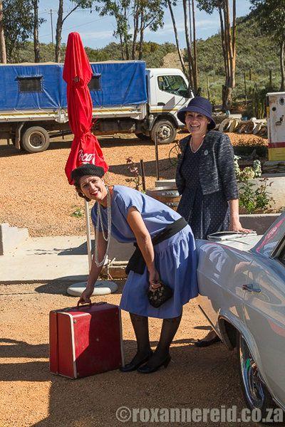 Travel back in time at the Diesel & Crème vintage diner. #travel #R62 #Barrydale #Karoo #SouthAfrica