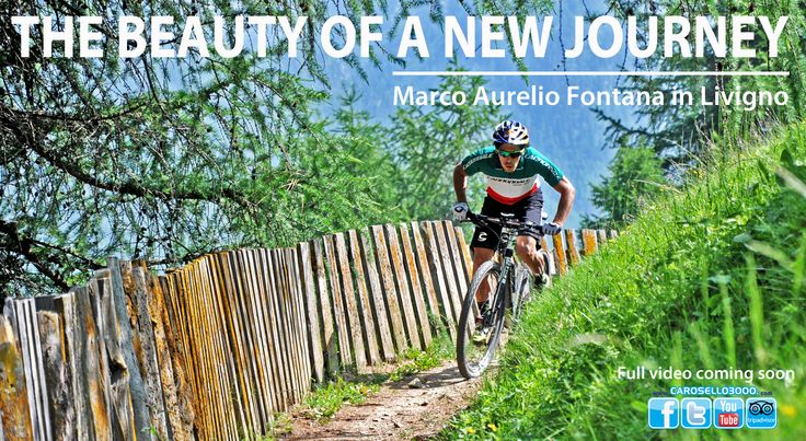 """Cover#3 Marco Fontana in Livigno. """"You have the altitude, the trails, the sun and  a liveliness village. Yes, Livigno is the right place to be in Summer!"""""""
