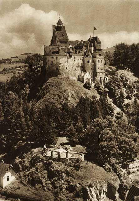 Romania (Bran castle) - old photos - by Kurt Hielscher