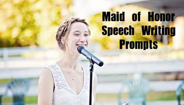 tips for writing a maid of honor speech A maid of honor speech written with the help of a comedian specifically for your little sister.