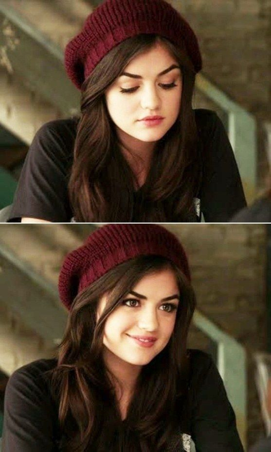 """The exact moment when she gave us all extreme beanie goals: 