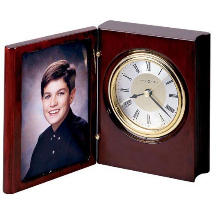 Howard Miller Portrait Book Desktop Clock - 645497