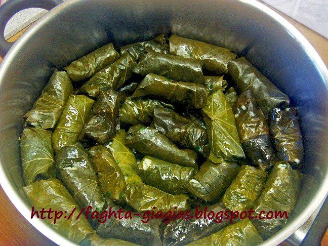 Τα φαγητά της γιαγιάς - Ντολμαδάκια γιαλαντζί με αμπελόφυλλα
