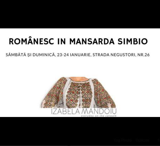 Creatiile cu motive romanesti sunt in weekend la Simbio, in Bucuresti, Str. Negustori, 26. Sunteti invitati! https://www.facebook.com/events/918085291642408/. #Simbio, #event, #sales, #reduceri, #IzabelaMandoiu, #PortTraditional