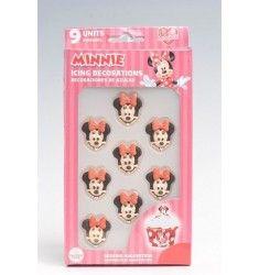 décorations en sucre Minnie pour gâteau