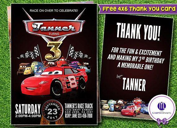 93 best Birthday Invitation Templates images – Cars Birthday Invitation Templates