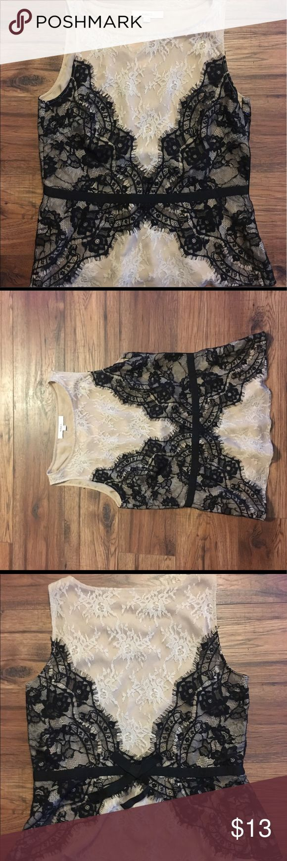 BRAND NEW WITH TAGS💗ANNE TAYLOR LOFT BLOUSE Beautiful brand new with tags! ANNE TAYLOR LOFT LACE BLOUSE. No stains or rips never worn. Size 8. sorry i cannot model because it is not my size!🌟🌟🌟 LOFT Tops Blouses