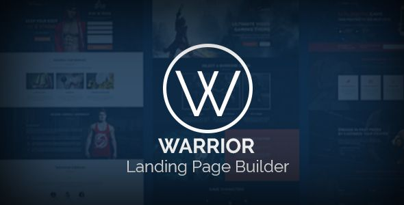 Warrior - Landing Pages Templates With Builder (Landing Pages) - http://wpskull.com/warrior-landing-pages-templates-with-builder-landing-pages/wordpress-offers
