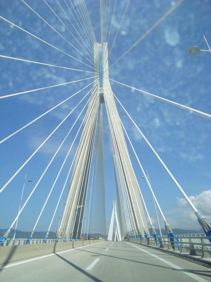 Rio-Antirrio Bridge, Patras.