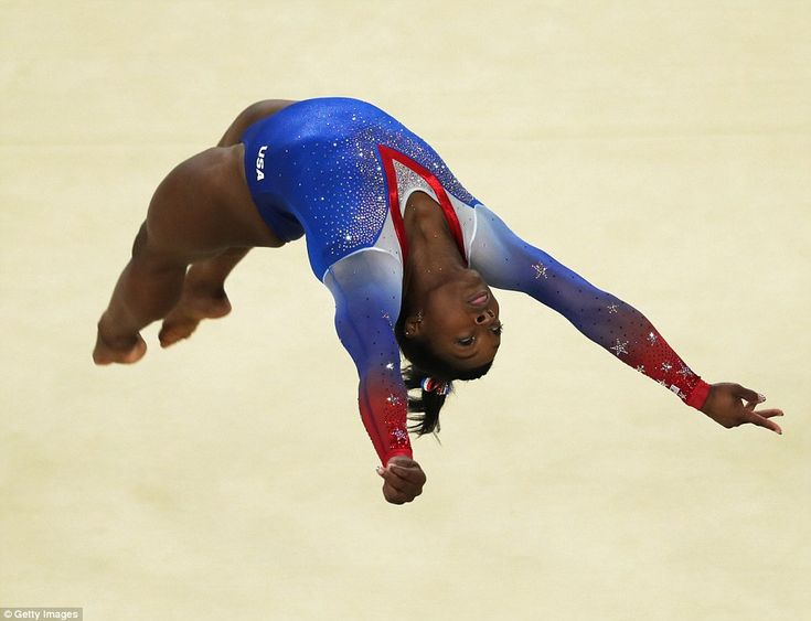 Her five medals tie the most for an American female gymnast in a single Olympics and her four golds tie an Olympic record shared by just four others