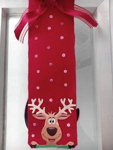 Adorno navide o para decorar la puertas en navidad puertas for Arreglos navidenos para puertas