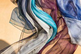 Una cascata di #colore con le nuove #stole in #seta #newcollection #silk #ss15 #color