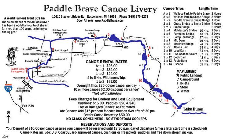 Canoe & Kayak Rental Rates