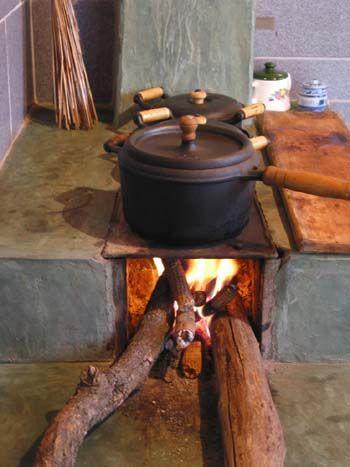 fogao de lenha (brazilian wood stove)