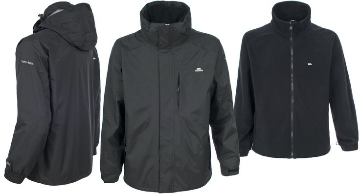Trespass Maker 3 in 1 winter coat - £69.99 inc Free delivery